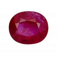 Ruby-Oval: 3.05ct