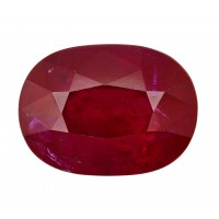 Ruby-Oval: 3.26ct