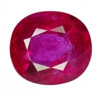 Ruby-Cushion: 1.49ct