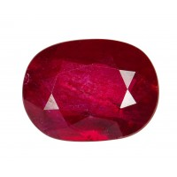 Ruby-Oval: 1.12ct