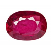 Ruby-Oval: 1.7ct