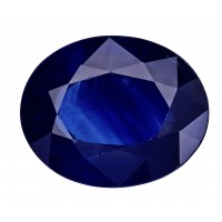 Sapphire-Oval: 4.85ct