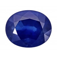 Sapphire-Oval: 4.71ct