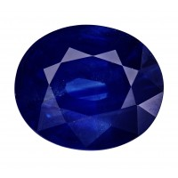Sapphire-Oval: 4.68ct
