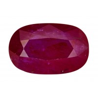 Ruby-Oval: 5.43ct