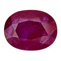 Ruby-Oval: 6.06ct