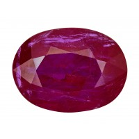 Ruby-Oval: 4.1ct