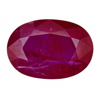 Ruby-Oval: 4.27ct