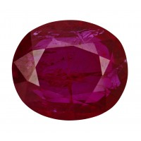 Ruby-Oval: 2.99ct