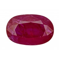 Ruby-Oval: 4.65ct