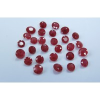 Ruby-Round: 6.0mm - 8.0mm