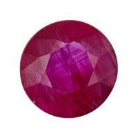 Ruby-Round: 1.23ct