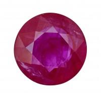 Ruby-Round: 1.38ct