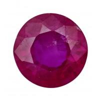 Ruby-Round: 1.09ct