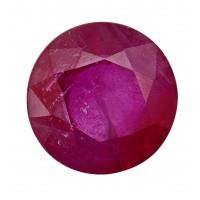 Ruby-Round: 1.22ct