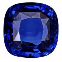 Sapphire-Cushion: 7.91ct