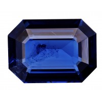 Sapphire-Octagon: 4ct