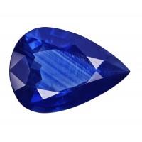 Sapphire-Pear: 3.95ct