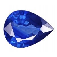Sapphire-Pear: 5.85ct