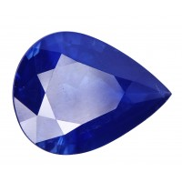 Sapphire-Pear: 4.69ct