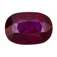 Ruby-Oval: 2.24ct
