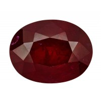 Ruby-Oval: 2.85ct
