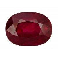 Ruby-Oval: 2.91ct