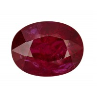 Ruby-Oval: 2.59ct