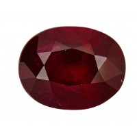 Ruby-Oval: 2.89ct