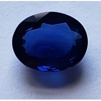 Sapphire-Oval: 4.18ct