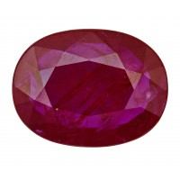 Ruby-Oval: 4.08ct