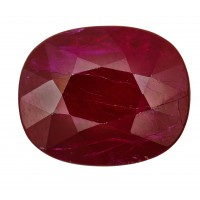 Ruby-Oval: 4.3ct