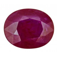 Ruby-Oval: 4.33ct
