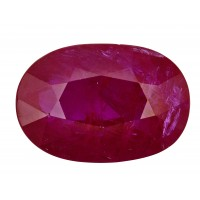 Ruby-Oval: 5.54ct