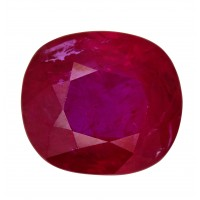 Ruby-Cushion: 1.66ct