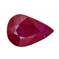 Ruby-Pear: 1.19ct