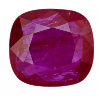 Ruby-Cushion: 2.49ct