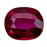 Ruby-Oval: 3.19ct
