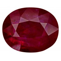 Ruby-Oval: 10.33ct