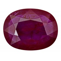 Ruby-Oval: 11.49ct