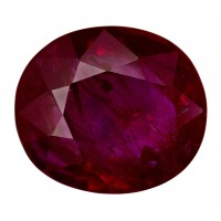 Ruby-Oval: 4.05ct