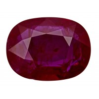 Ruby-Oval: 7.07ct
