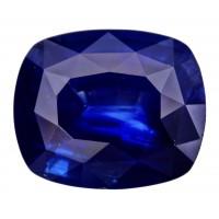 Sapphire-Cushion: 5.48ct