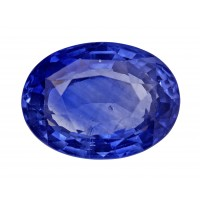 Sapphire-Oval: 4.67ct