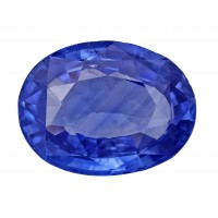 Sapphire-Oval: 3.56ct