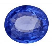 Sapphire-Oval: 3.65ct