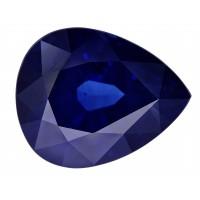 Sapphire-Pear: 4.6ct