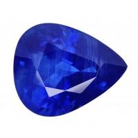 Sapphire-Pear: 2.97ct