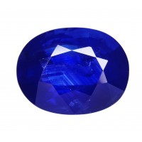 Sapphire-Oval: 2.82ct