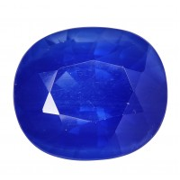 Sapphire-Oval: 3.74ct